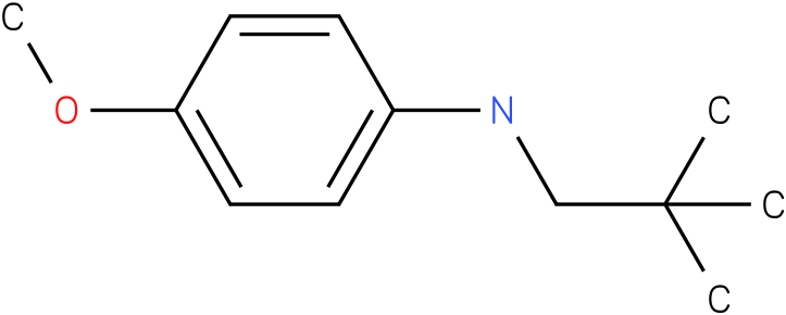 4-methoxy-N-neopentylbenzenamine