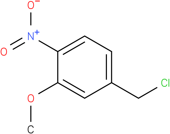 4-(chloromethyl)-2-methoxy-1-nitrobenzene