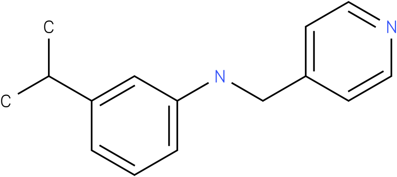 3-isopropyl-N-((pyridin-4-yl)methyl)benzenamine