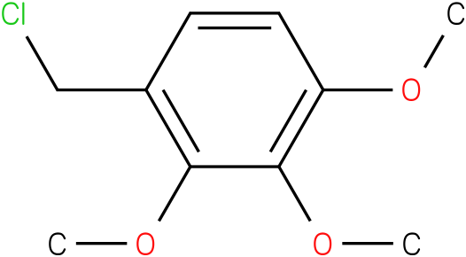 1-(chloromethyl)-2,3,4-trimethoxybenzene