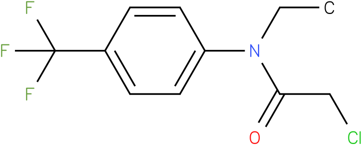 2-chloro-N-ethyl-N-(4-(trifluoromethyl)Phenyl)acetamide