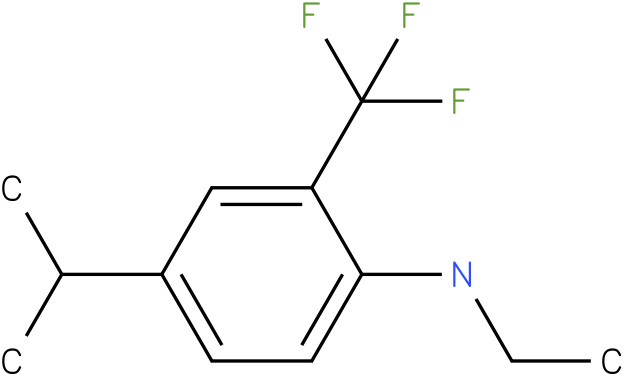 N-ethyl-2-(trifluoromethyl)-4-isopropylbenzenamine