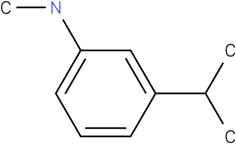 3-isopropyl-N-methylbenzenamine