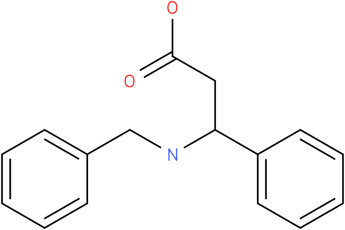 3-(benzylamino)-3-phenylpropanoic acid