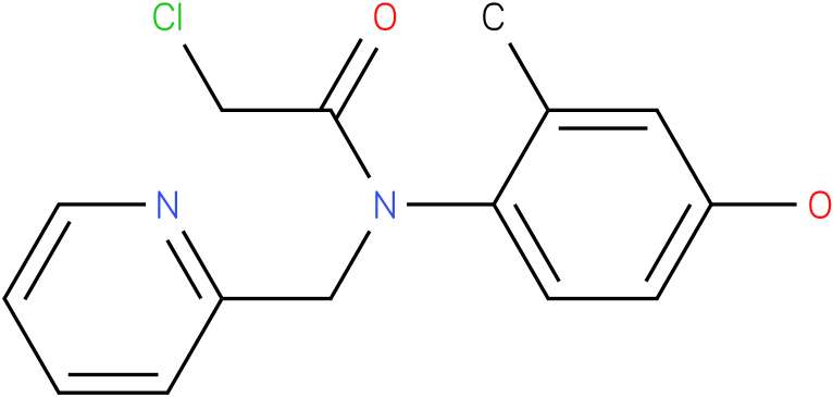 2-chloro-N-(4-hydroxy-2-methylphenyl)-N-((pyridin-2-yl)methyl)acetamide