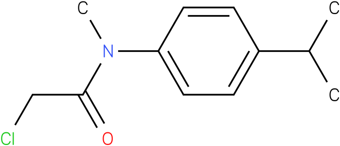 2-chloro-N-(4-isopropylphenyl)-N-methylacetamide