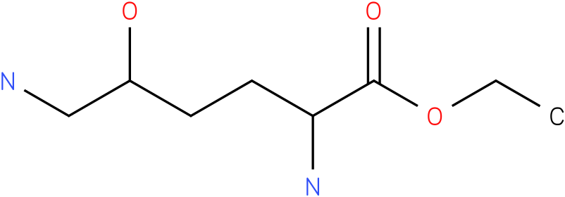 ethyl 2,6-diamino-5-hydroxyhexanoate