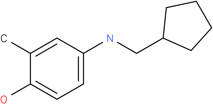 4-(cyclopentylmethylamino)-2-methylphenol