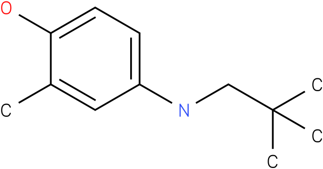 2-methyl-4-(neopentylamino)phenol