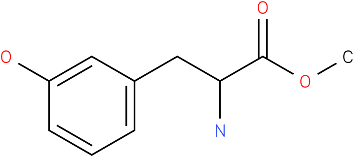 methyl 2-amino-3-(3-hydroxyphenyl)propanoate