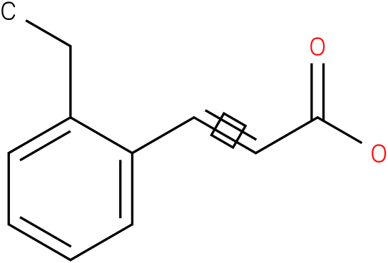 3-(2-ethylphenyl)-2-propenoic acid