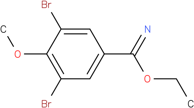 ethyl 3,5-dibromo-4-methoxybenzimidate