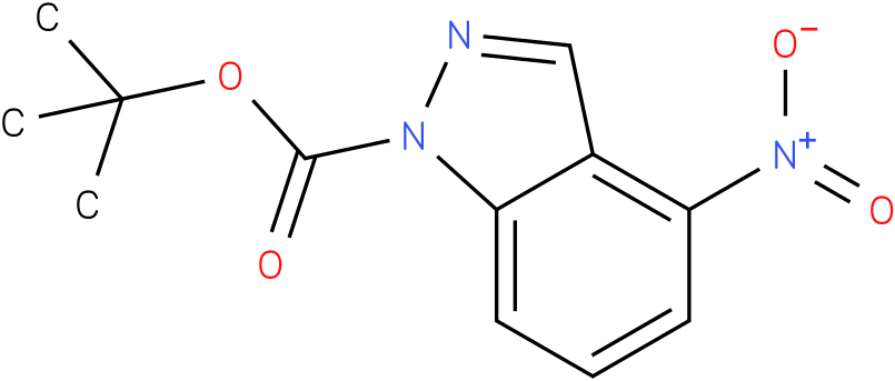 1H-INDAZOLE-1-CARBOXYLIC ACID,4-NITRO-,1,1-DIMETHYLETHYL ESTER