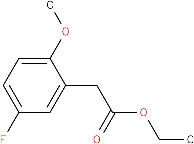 ethyl 2-(5-fluoro-2-methoxyphenyl)acetate