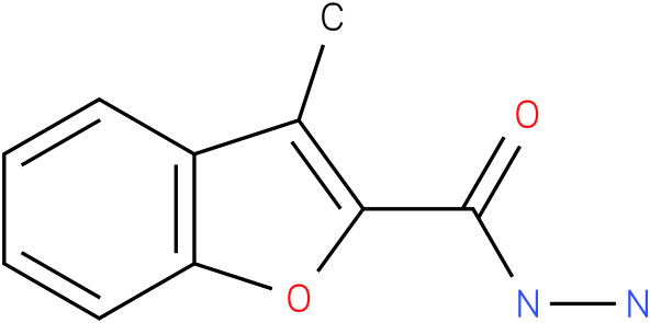 3-methyl-benzofuran-2-carboxylic acid hydrazide