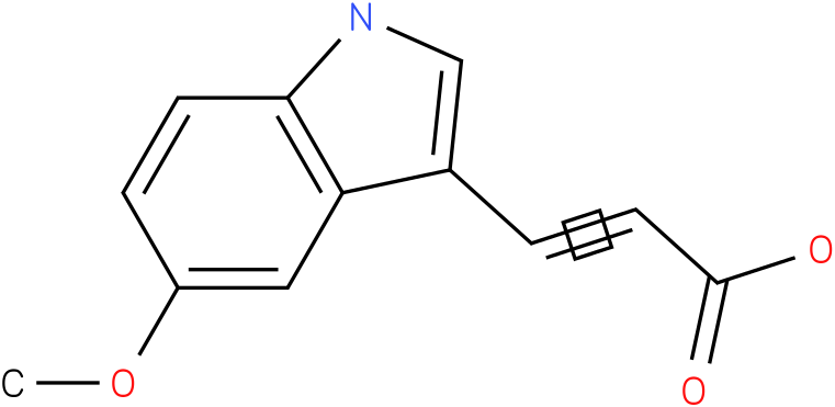 3-(5-methoxy-1H-indol-3-yl)-acrylic acid