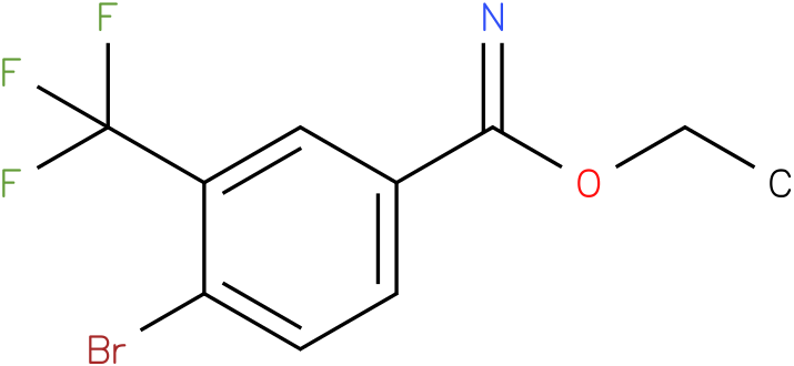 ethyl 4-bromo-3-(trifluoromethyl)benzimidate