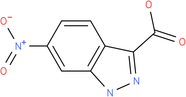 6-nitro-3H-indazole-3-carboxylate