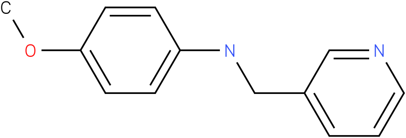 4-methoxy-N-((pyridin-3-yl)methyl)benzenamine