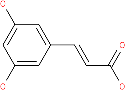 3,5-dihydroxycinnamic acid