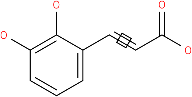2,3-dihydroxycinnamic acid