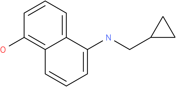 5-(cyclopropylmethylamino)naphthalen-1-o1