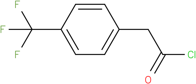 4-(trifluoromethyl)phenylacetyl chloride