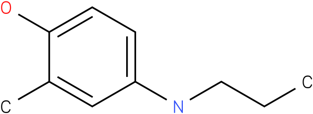 2-methyl-4-(propylamino)phenol