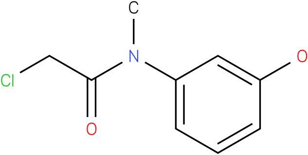 2-chloro-N-(3-hydroxyphenyl)-N-methylacetamide