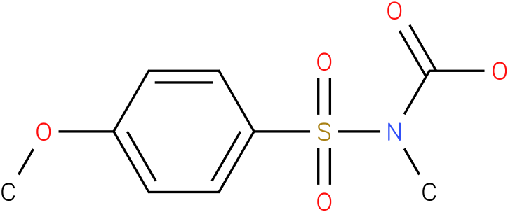 CARBAMIC ACID,[(4-METHOXYPHENYL)SULFONYL]-,METHYL ESTER (9Cl)