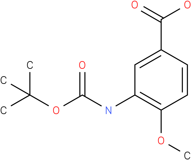 boc-3-amino-4-methoxybenzoic acid