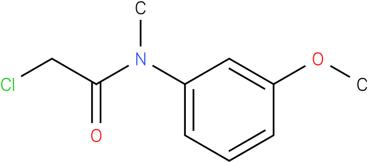 2-chloro-N-(3-methoxyphenyl)-N-methylacetamide