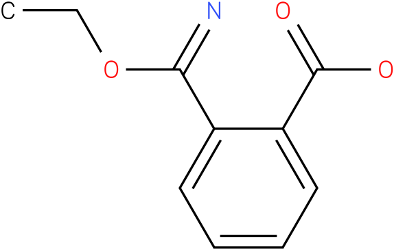 2-(ethoxy(imino)methyl)benzoic acid
