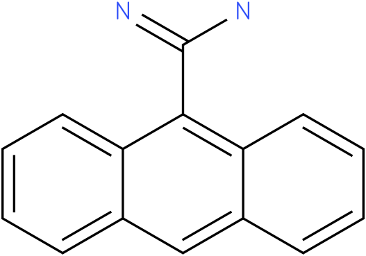 Anthracene-9-Carboxamidine