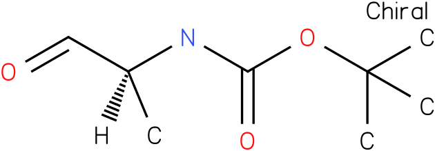 tert-butyl(S)-1-formylethylcarbamate