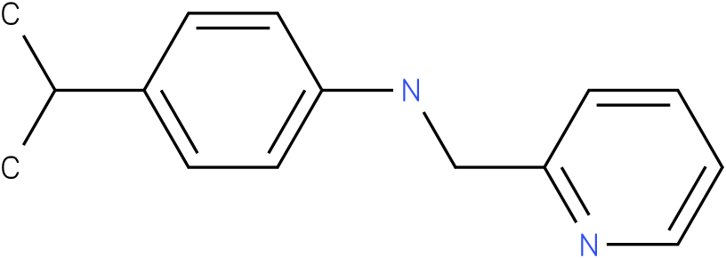 4-isopropyl-N-((pyridin-2-yl)methyl)benzenamine