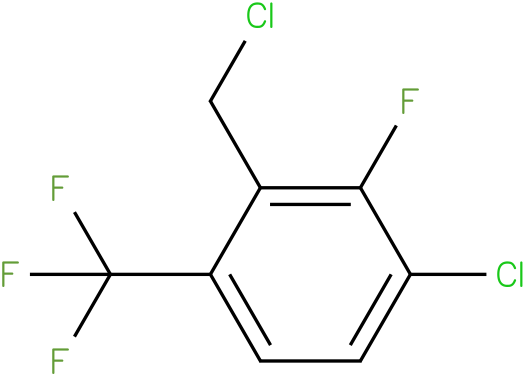 1-chloro-3-(chloromethyl)-2-fluoro-4-(trifluoromethyl)benzene