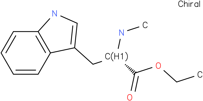 (S)-ethyl 3-(1H-indol-3-yl)-2-(methylamino)propanoate