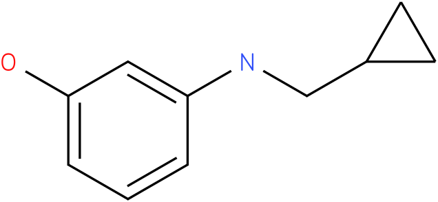 3-(cyclopropylmethylamino)phenol