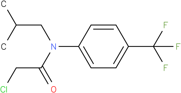2-chloro-N-(4-(trifluoromethyl)phenyl)-N-isobutylacetamide