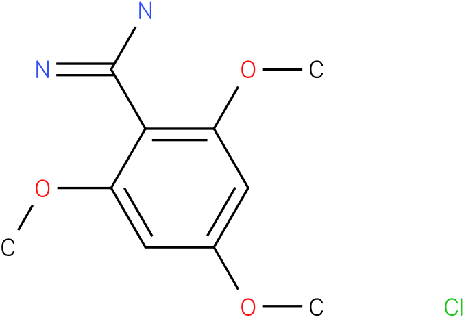 2,4,6-trimethoxy-benzamidine hydrochloride