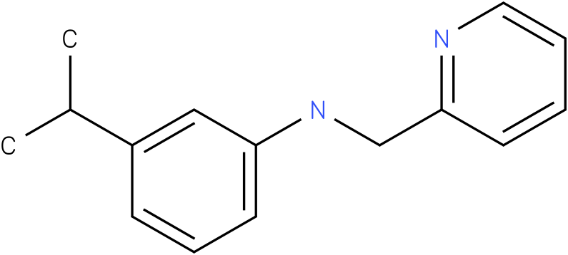 3-isopropyl-N-((pyridin-2-yl)methyl)benzenamine