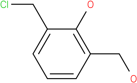 2-(chloromethyl)-6-(hydroxymethyl)phenol