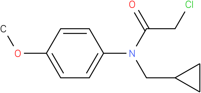2-chloro-N-(cyclopropylmethyl)-N-(4-methoxyphenyl)acetamide