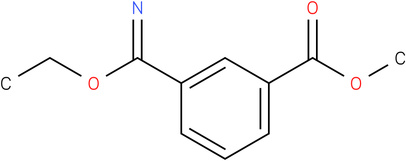 methyl 3-(ethoxy(imino)methyl)benzoate