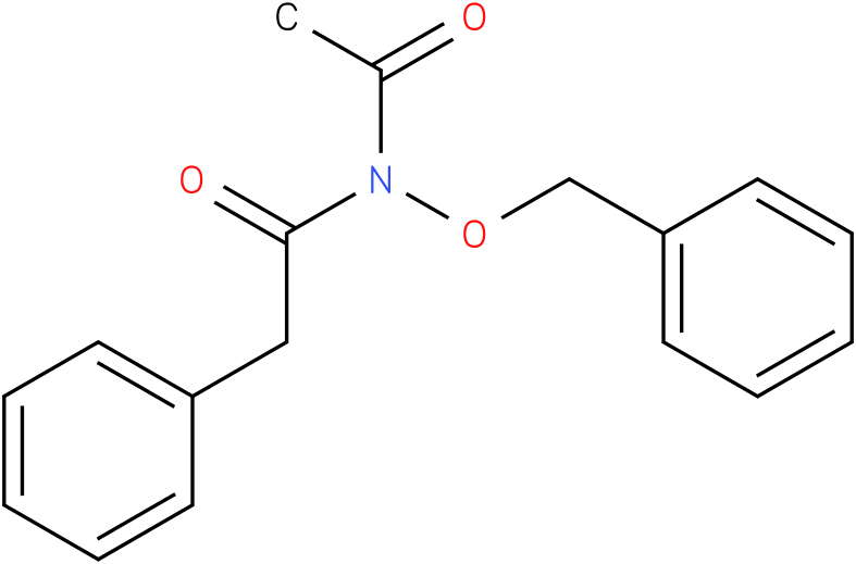 n-acetyl-n-(benzyloxy)-2-phenylacetamide
