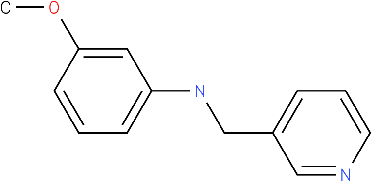 3-methoxy-N-((pyridin-3-yl)methyl)benzenamine