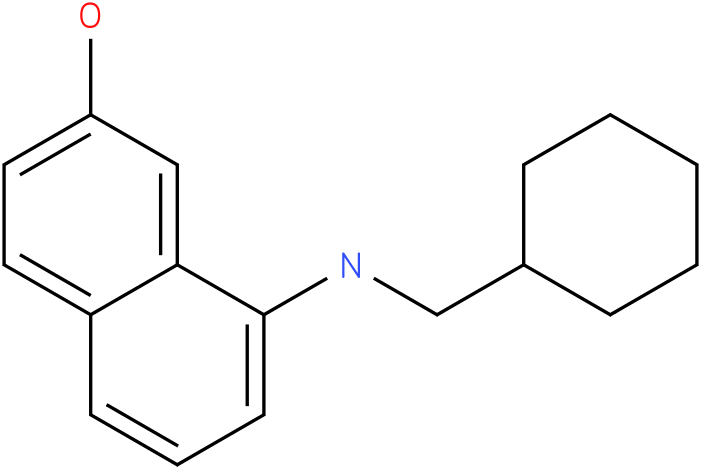 8-(cyclohexylmethylamino)naphthalen-2-ol