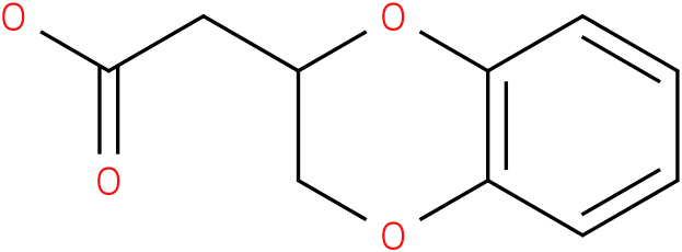 2-(2,3-dihydrobenzo[b][1,4]dioxin-2-yl)acetic acid