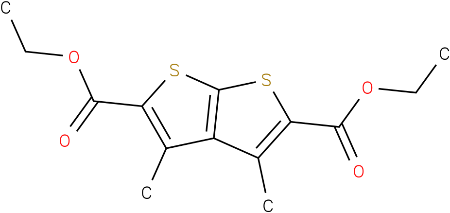 DIETHYL 3,4-DIMETHYLTHIENO[2,3-B]THIOPHENE-2,5-DICARBOXYLATE